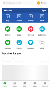 GOJEKアプリの画像