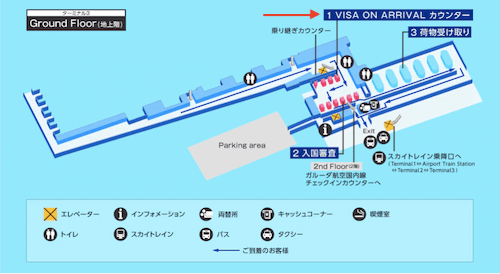 空港の見取り図