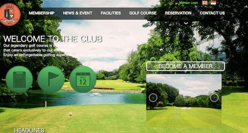 ジャカルタ ゴルフクラブの画像