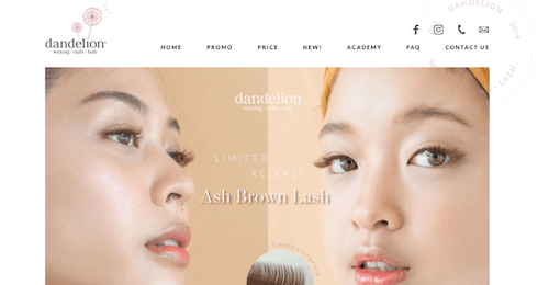 Dandelion waxing • nails • lashの画像