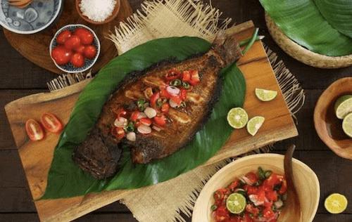 イカンバカール(焼魚)の画像