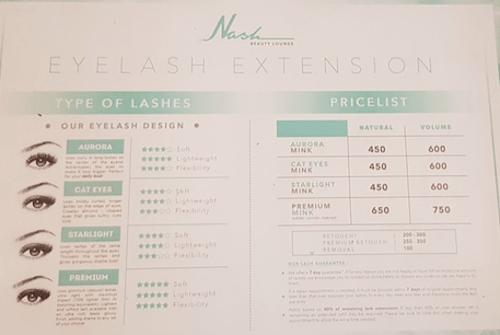Nash Eyelash Extensionの画像