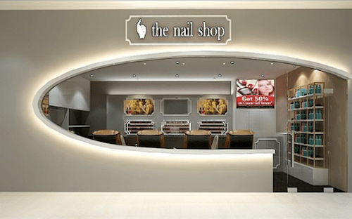 the nail shopの画像